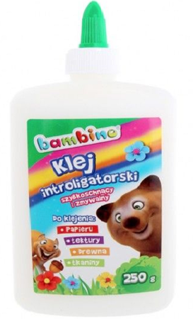 Bambino Klej Introligatorski 250g Mini Zoo